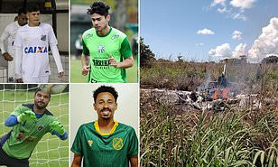So Tragic! Four Brazilian Footballers Die In Plane Crash As They Traveled Separately After Testing Positive for Coronavirus (Photo)