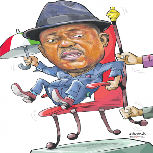 2023 ELECTION: Fire in PDP, Governors Wike, Makinde, Fintiri Seek Secondus's Ouster
