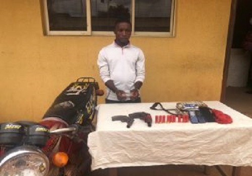 See the Armed Robber Arrested In Ogun State (Photo)