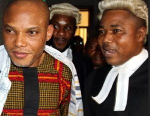 """""""The Coast Is Clear For Legal Fireworks"""" – Nnamdi Kanu's Lawyers React To FG's Amended Charges"""